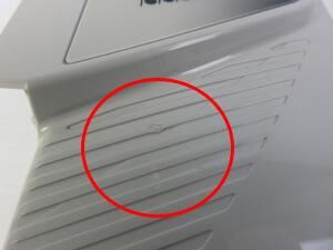 Panasonic パナソニック アシスト自転車 バッテリー 傷
