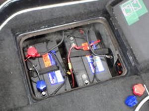 マリン用バッテリーの使い方